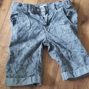 Old Navy Black and Grey Safari Tiger 3T Shorts